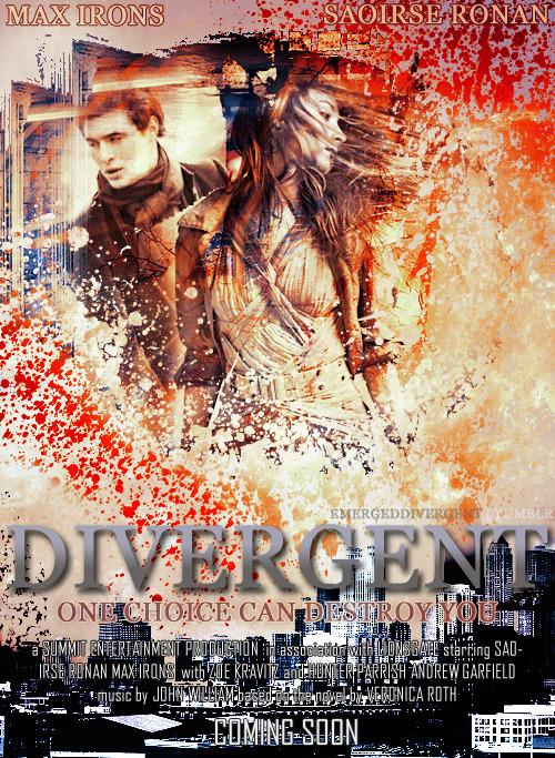 Geek Art Gallery Posters Divergent Fan Posters