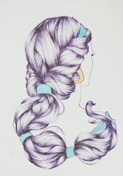 hair illustration