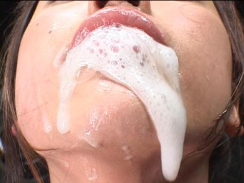 Dripping creampie facial 2 try