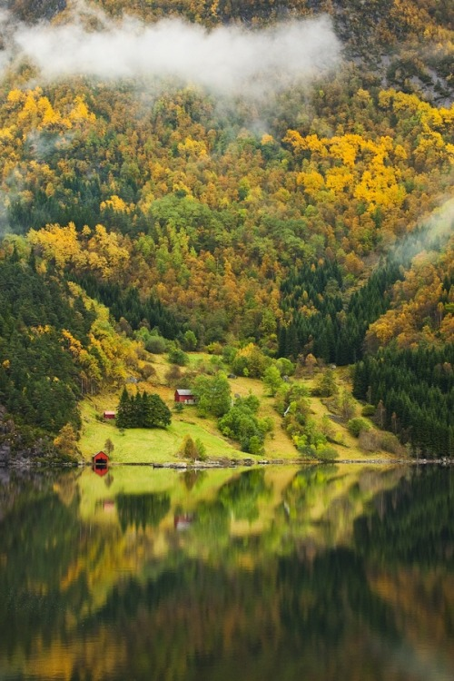unwrittennature:Norwegian Farm II by: Tord Andre Oen
