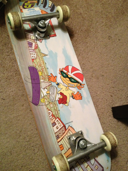 Nickelodeon Skateboard : nickelodeon, skateboard, Vintage, Television, Retro, Nickelodeon, Skateboard, Rocket, Power, Niaatastic