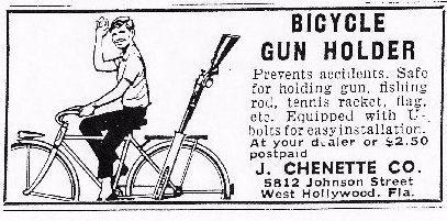 bicycle gun rack