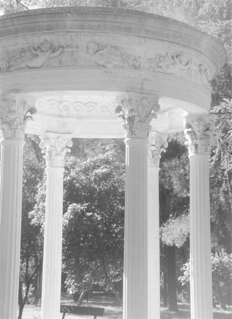 THE DEAD GAME<br /> Looks like the gazebo in my book.<br /> Without the bodies hanging from nooses<br /> And robed figures circling around<br /> In the dead of night.