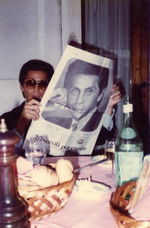 Jackson and Valentino reading a Newspaper
