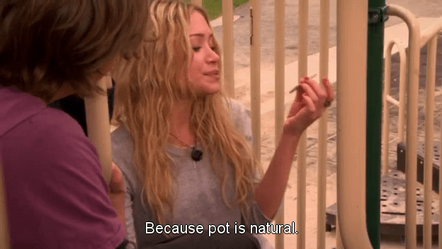 Mary Kate Olsen Weeds