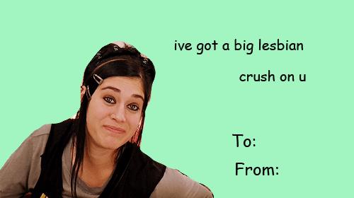 Mean Girls Valentines Valentines Day Valentines Card
