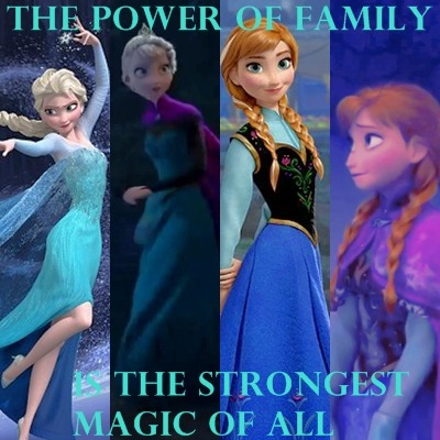 the power of family is the strongest magic of all