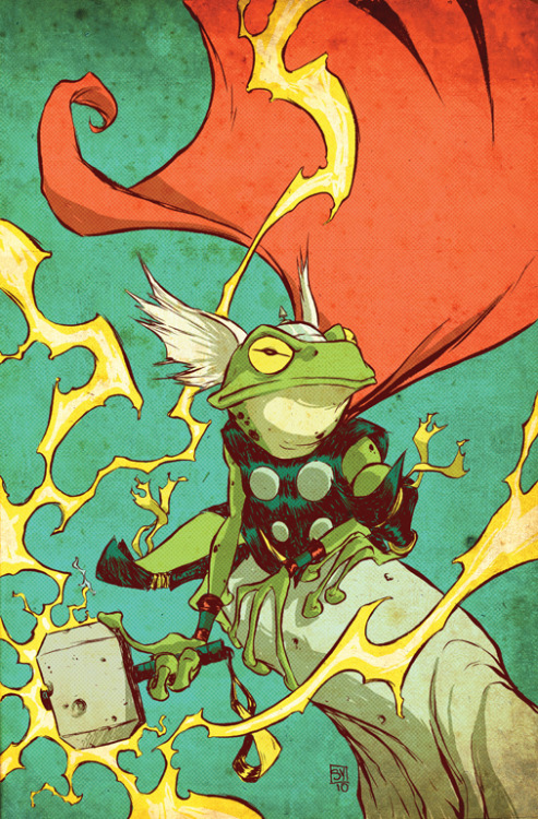throg frog thor skottie young