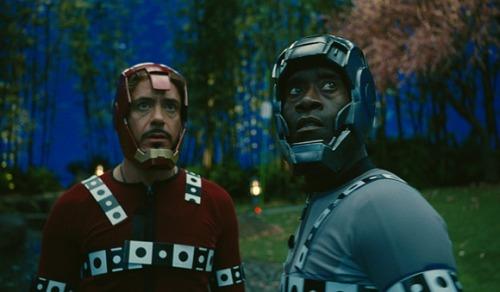 Iron man before visual effects green profile avatar