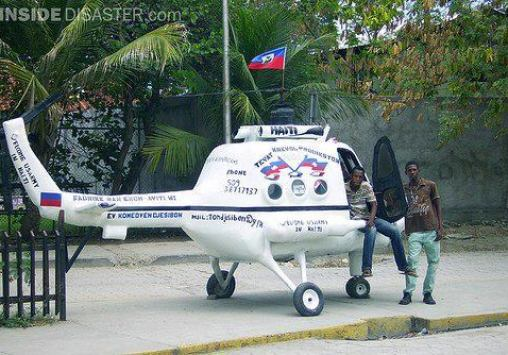 """The Flying Brothers: First Helicopter Made In Haiti By 3 Haitian teen brothers.I am proud Haitian, unfortunately I'm unable to put all my emotions in this post. Three Haitian brothers, with no training of any kind, have constructed a working, flying helicopter. Total cost? 45,000 Haitian dollars, which comes out to approximately 1100 American bucks. Their chopper is the first helicopter to every be produced in Haiti.For these brothers, creating this helicopter is the realization of a lifelong ambition. When they were kids, they were fascinated with the 'ti totè', a local slang for helicopters. The two started to think about making their project a reality when helicopters started to frequently fly over Haitian soil in the past few decades.They had been searching about helicopters for years before they finally figured out the mechanics of what makes helicopters fly. Even once they understood the process, however, they still needed more support and knowledge before they could make it fly.They began building the chopper in March 2007, and finished it in March 2008. The two participated in a local competition with their helicopter where they made it fly for several minutes, and won the first prize.You want to hear the best part? They said that at the same time, a local company offered them $13000 USD for their creation, but they turned them down. They wanted to receive something more important than money, like training or continued education. They also wanted it to become a part of Haiti's national heritage.""""Now wow, what a story?VIA Bonjour les Amis"""
