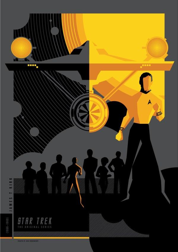 Geek Art Posters Star Trek Tos