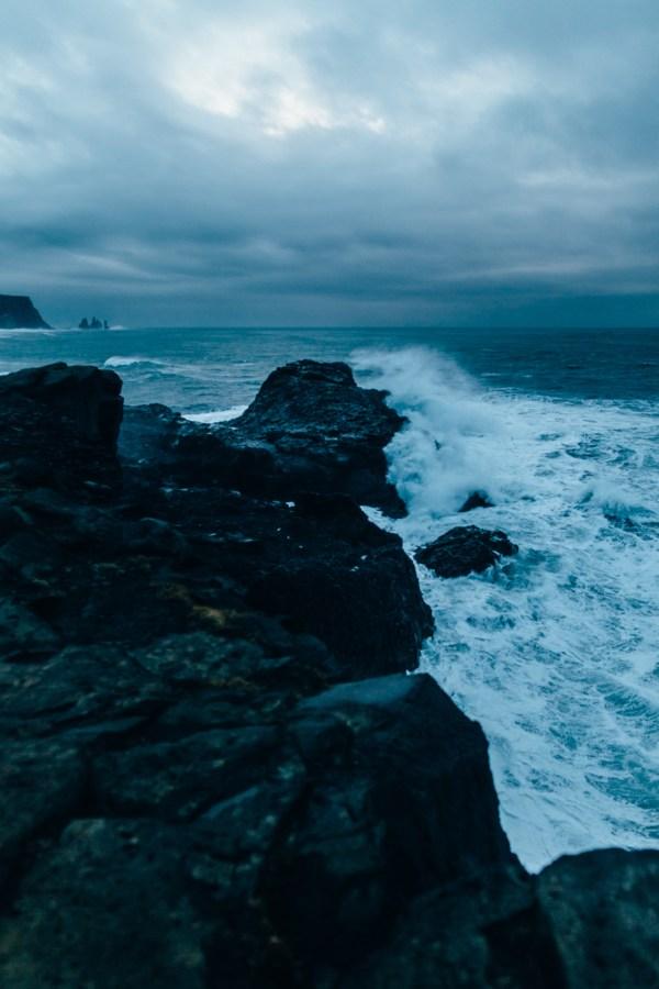 Landscape Water Blue Ocean Iceland Drewmistak