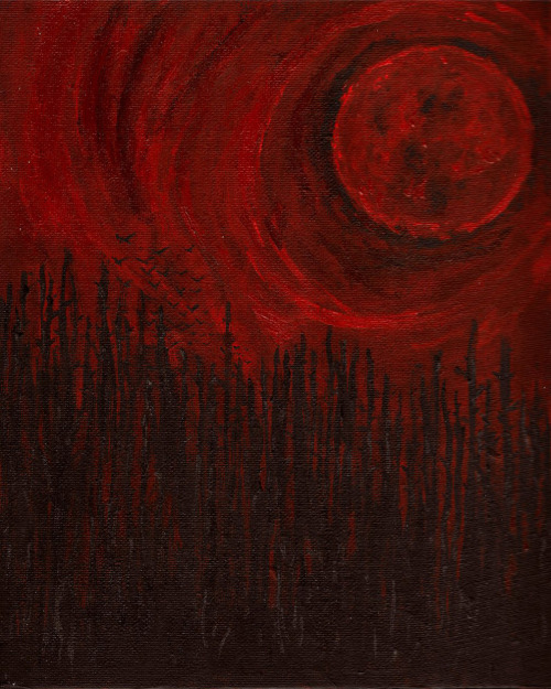 lunasabatica:</p> <p>Bloodmoon by James</p> <p>The moon is rising over Oasis.<br /> Bodies are rising from their graves.<br /> Soon the town will be under siege.<br /> Under siege from THE DEAD.<br /> Flee or hide.<br /> Those are the only choices.<br /> THE DEAD GAME by Susanne Leist