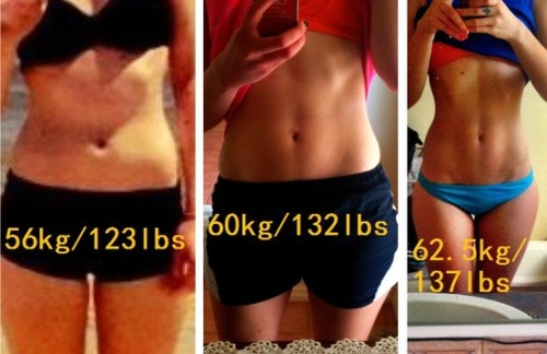 A reminder that muscle weighs more than fat! use this link to get a fat loss plan customized specifically to your body