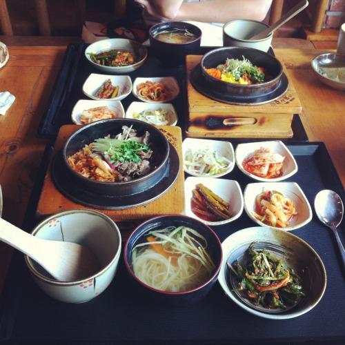 Resultado de imagem para comida coreana tumblr