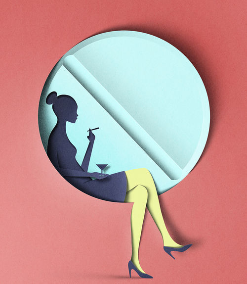Digital Papercut Illustrations by Eiko Ojala / Colossal