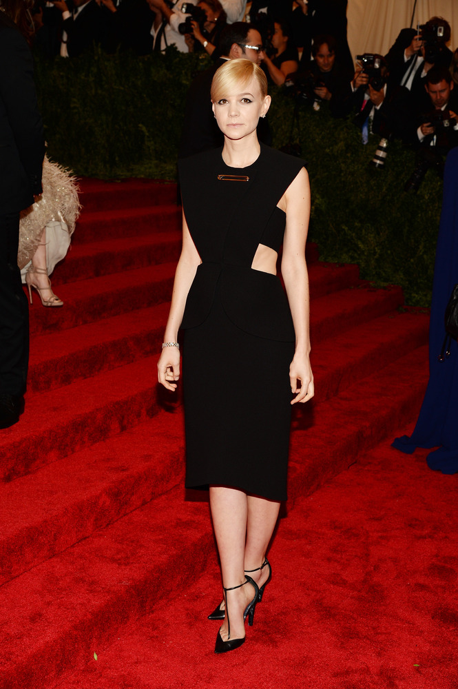Carey Mulligan at the 2013 Met Gala in Balenciaga by Alexander Wang