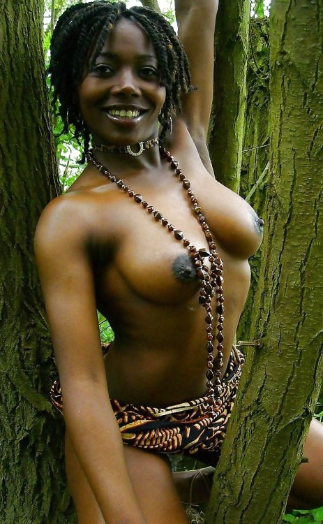 The rare Negro wood nymph. They're fast, amply endowed and have a fantastic sense of humor.Gorgeous.