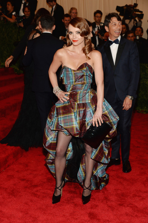 Christina Ricci in Vivienne Westwood at the 2013 Met Ball