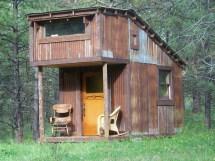 Tiny Hunting Cabin House