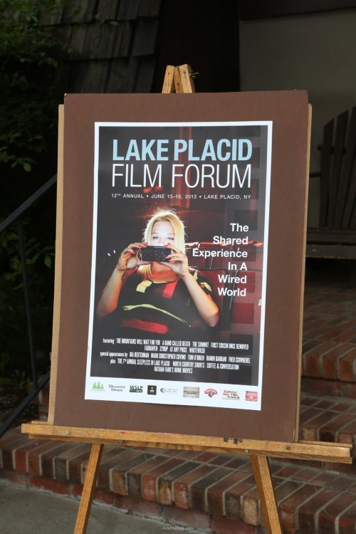Lake Placid Film Forum Poster