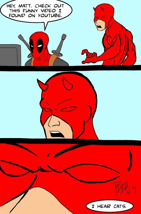 deadpool teases daredevil