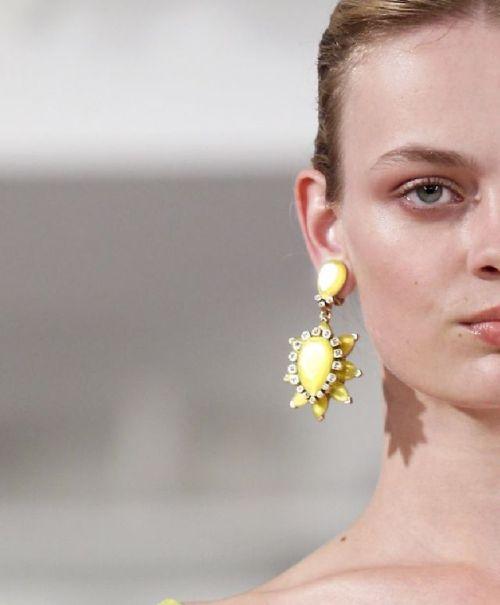 oscarprgirl:  starburst earrings, spring 2014.