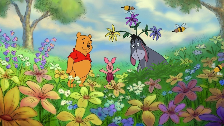 ohmydisney:</p> <p>Spring = Flowers.</p> <p>Hope springs eternal.<br /> Enjoy the new season!