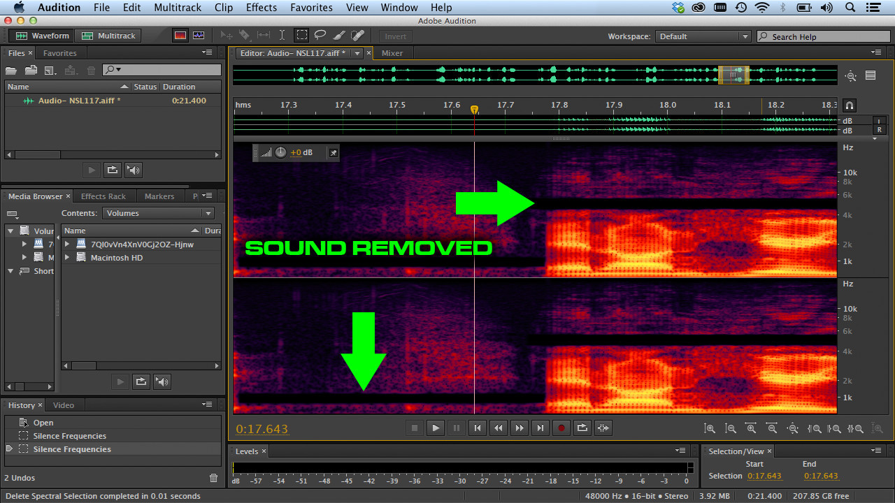 Adobe Audition for the Creative Cloud