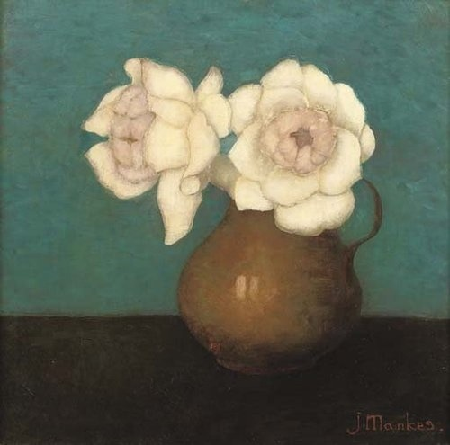 Jan Mankes:  Rozen in Vaas