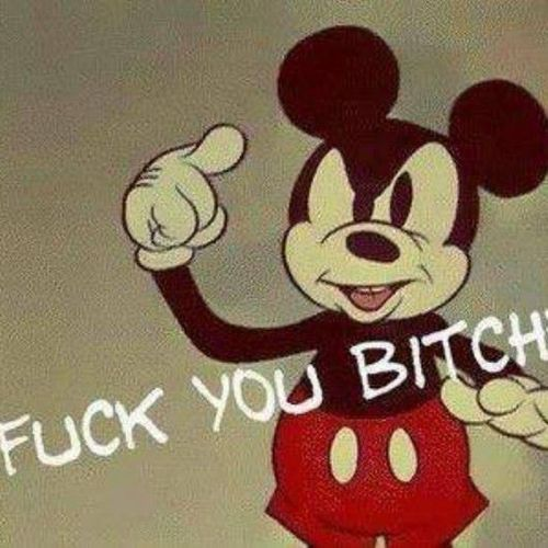 message from mickey mouse