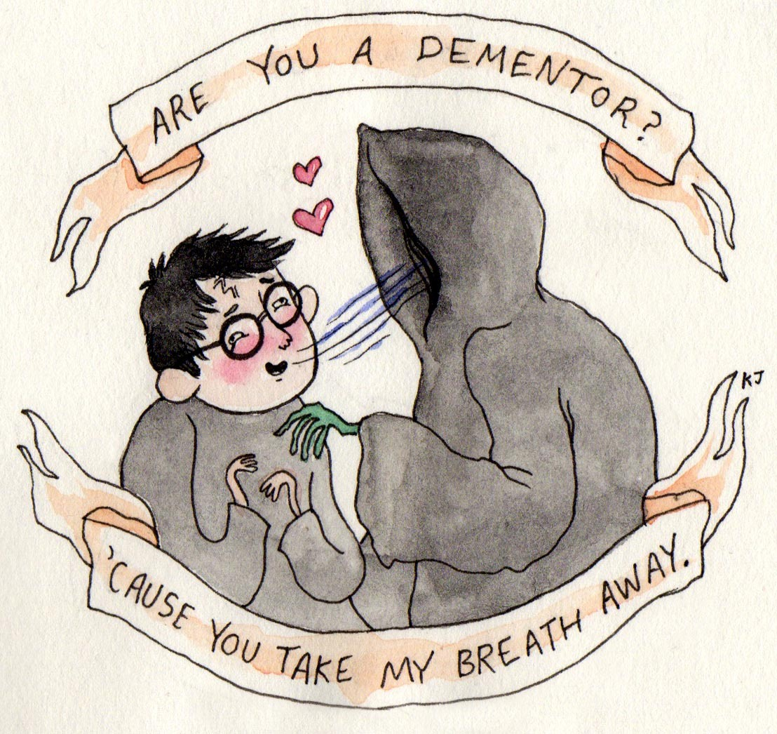 Geek Art Gallery Cards Harry Potter Valentines