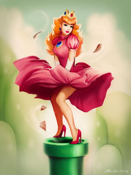 peach Marilyn