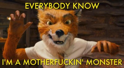 Fantastic Mr. Fox / Monster H/T@feringlourious
