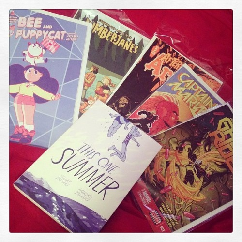 Picture of Kate Or Die's comic picks for this week.