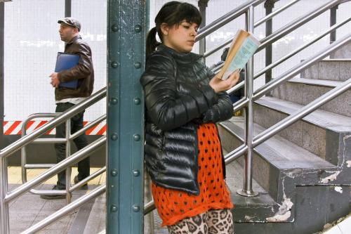 Especial: Pessoas que leem no metro 9