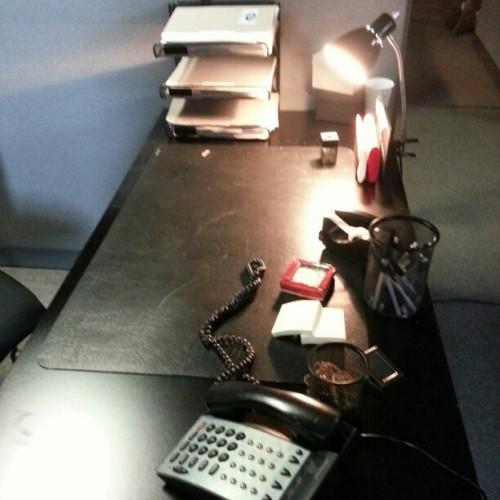 Agent M Loves Taco picture of S.H.I.E.L.D. tv series desk