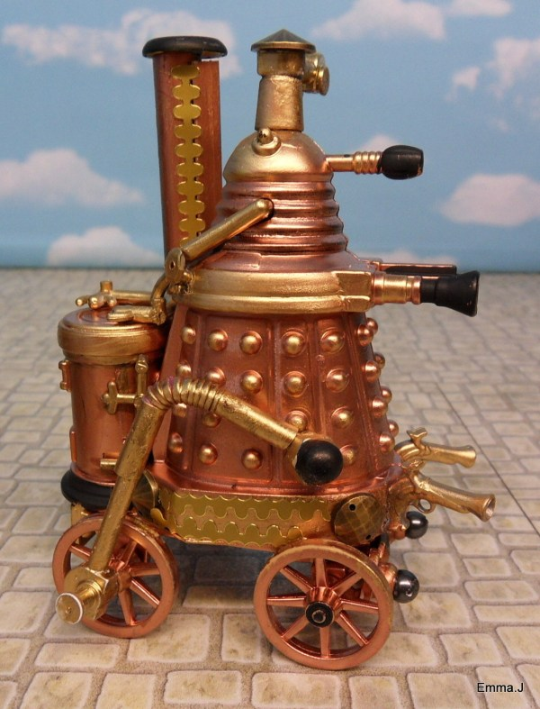 Geek Art Sculpture Steampunk Doctor