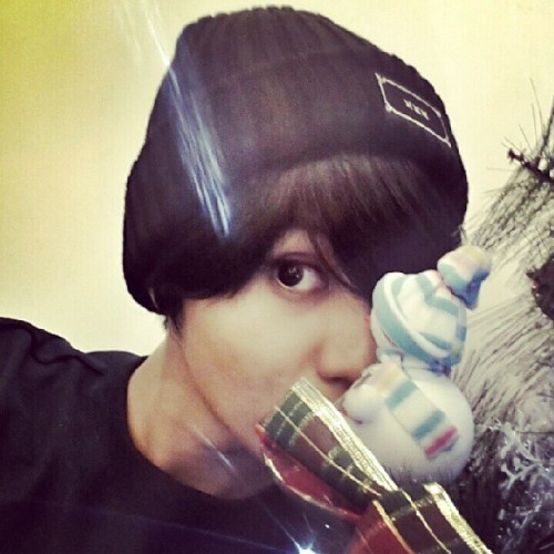 [PHOTO] Trenta instagram update - SHINee Taemin 131218:<br /> Credit; xxxtrenta