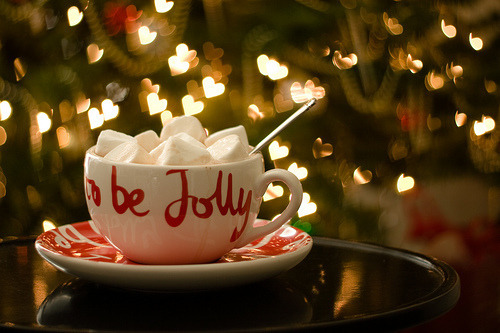 Image result for hot chocolate christmas lights
