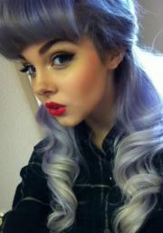 purple hair alternative pastel