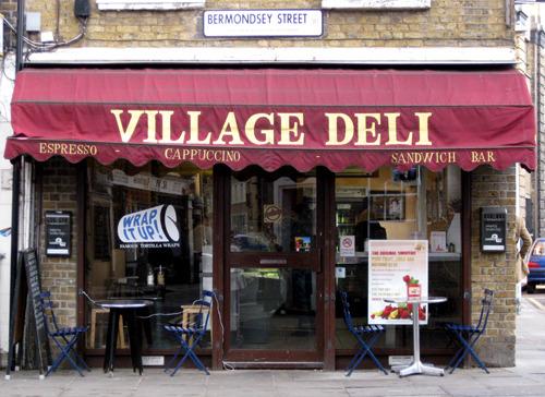Village Deli, Bermondsey Street SE1
