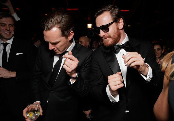Benedict Cumberbatch y Michael Fassbender