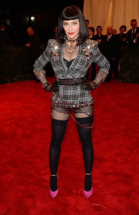 Madonna in Givenchy at the 2013 Met Ball