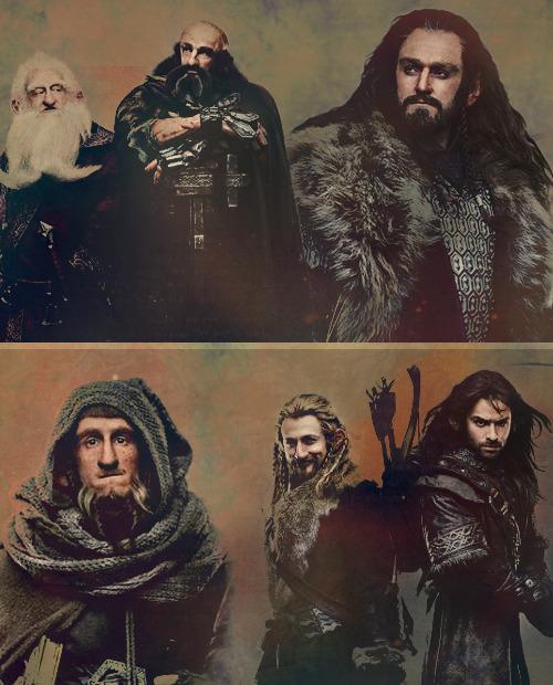 1k the hobbit my graphics fili kili oin dwalin gloin balin