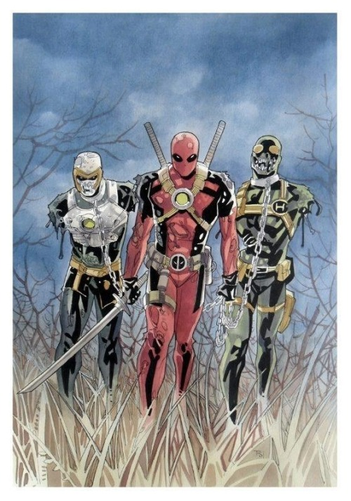 deadpool vs zombies as micchione