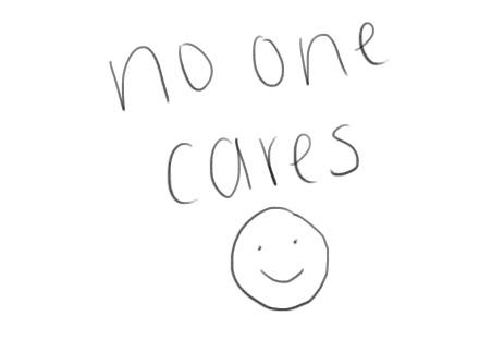 mine no one cares flaunter •