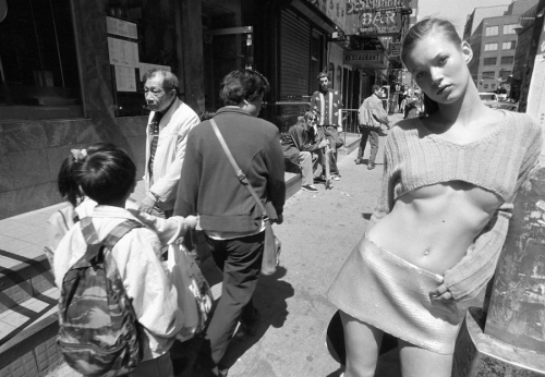 erichcanvogue:Kate Moss by Glen Luchford forHarper's Bazaar,1994.