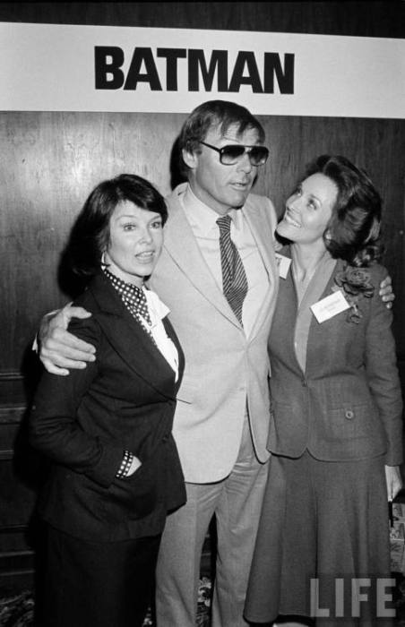 adam west with chicks