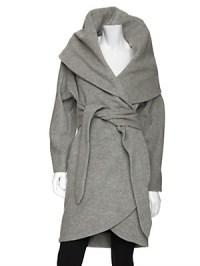 im snobb. - Mara Hoffman Shawl Collar Wrap Coat $660 loveeee